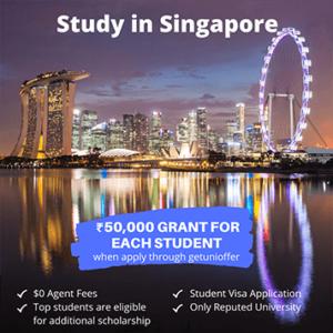 Study in Singapore Grant